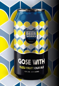 Community Beer Works Gose With Yuzu / 6-pack cans