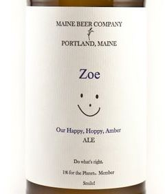 Maine Beer Co. Zoe / 500 ml bottle