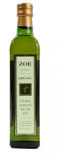 Zoe Organic Extra Virgin Olive Oil 16.9 OZ