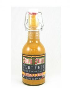 Zulu Zulu Lemon Herb Peri Peri Hot Sauce 8.4 oz