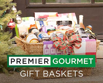 Premier Gourmet Gift Baskets -- Great Gifts. Delivered.