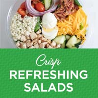 Crisp, Refreshing Salads from The Kitchen