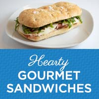 Hearty Gourmet Sandwiches at The Kitchen